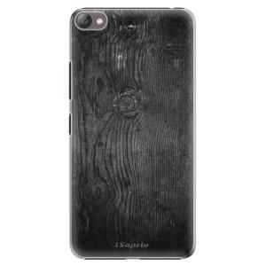 Plastové pouzdro iSaprio Black Wood 13 na mobil Lenovo S60