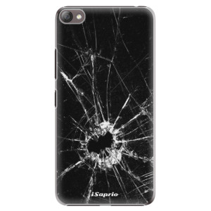 Plastové pouzdro iSaprio Broken Glass 10 na mobil Lenovo S60