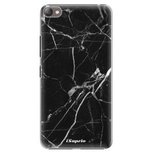 Plastové pouzdro iSaprio Black Marble 18 na mobil Lenovo S60