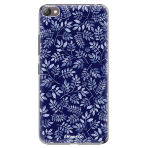 Plastové pouzdro iSaprio Blue Leaves 05 na mobil Lenovo S60