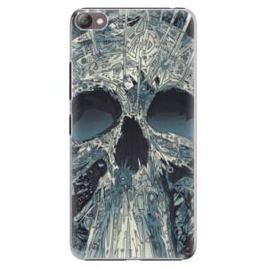 Plastové pouzdro iSaprio Abstract Skull na mobil Lenovo S60