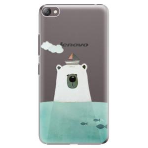 Plastové pouzdro iSaprio Bear With Boat na mobil Lenovo S60