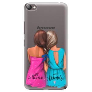 Plastové pouzdro iSaprio Best Friends na mobil Lenovo S60