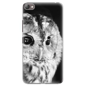 Plastové pouzdro iSaprio BW Owl na mobil Lenovo S60