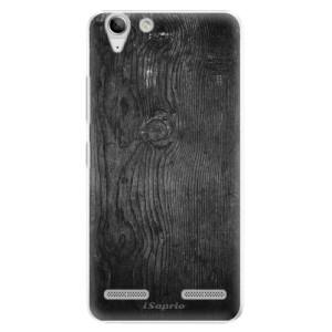 Plastové pouzdro iSaprio Black Wood 13 na mobil Lenovo Vibe K5
