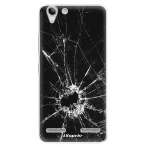 Plastové pouzdro iSaprio Broken Glass 10 na mobil Lenovo Vibe K5