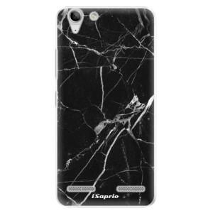 Plastové pouzdro iSaprio Black Marble 18 na mobil Lenovo Vibe K5