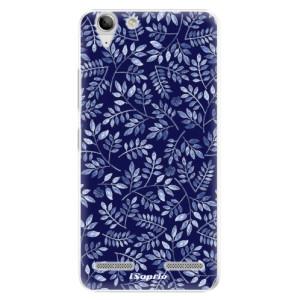Plastové pouzdro iSaprio Blue Leaves 05 na mobil Lenovo Vibe K5
