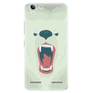 Plastové pouzdro iSaprio Angry Bear na mobil Lenovo Vibe K5