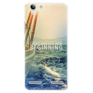 Plastové pouzdro iSaprio Beginning na mobil Lenovo Vibe K5