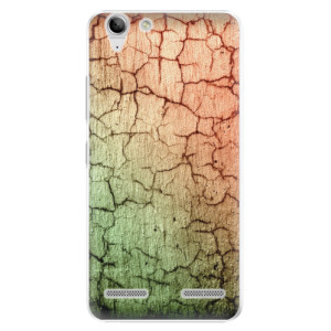 Plastové pouzdro iSaprio Cracked Wall 01 na mobil Lenovo Vibe K5