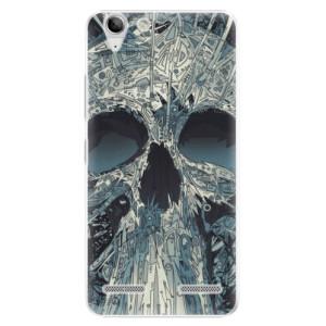 Plastové pouzdro iSaprio Abstract Skull na mobil Lenovo Vibe K5