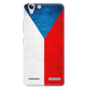 Plastové pouzdro iSaprio Czech Flag na mobil Lenovo Vibe K5