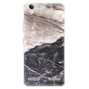 Plastové pouzdro iSaprio BW Marble na mobil Lenovo Vibe K5