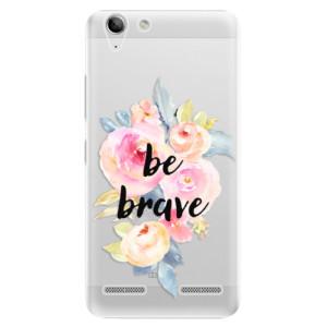 Plastové pouzdro iSaprio Be Brave na mobil Lenovo Vibe K5
