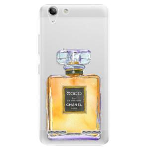 Plastové pouzdro iSaprio Chanel Gold na mobil Lenovo Vibe K5