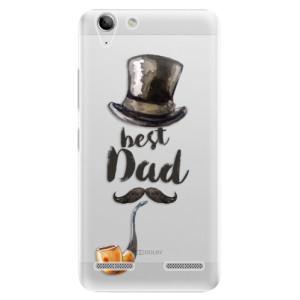Plastové pouzdro iSaprio Best Dad na mobil Lenovo Vibe K5