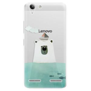 Plastové pouzdro iSaprio Bear With Boat na mobil Lenovo Vibe K5