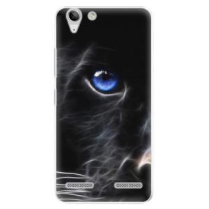 Plastové pouzdro iSaprio Black Puma na mobil Lenovo Vibe K5