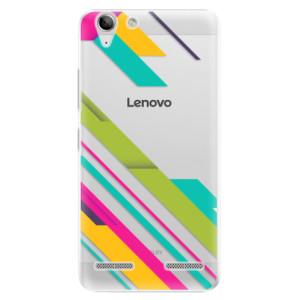 Plastové pouzdro iSaprio Color Stripes 03 na mobil Lenovo Vibe K5