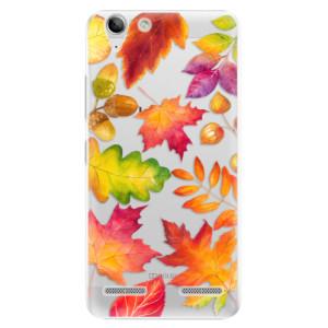 Plastové pouzdro iSaprio Autumn Leaves 01 na mobil Lenovo Vibe K5