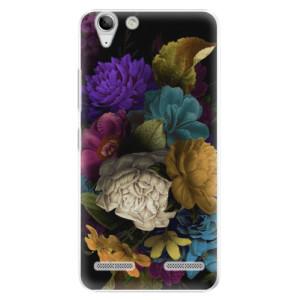 Plastové pouzdro iSaprio Dark Flowers na mobil Lenovo Vibe K5