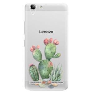 Plastové pouzdro iSaprio Cacti 01 na mobil Lenovo Vibe K5