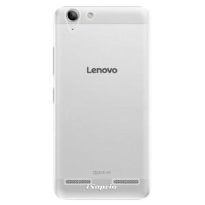 Plastové pouzdro iSaprio 4Pure mléčné bez potisku na mobil Lenovo Vibe K5