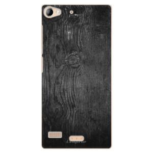 Plastové pouzdro iSaprio Black Wood 13 na mobil Lenovo Vibe X2
