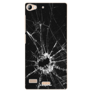 Plastové pouzdro iSaprio Broken Glass 10 na mobil Lenovo Vibe X2