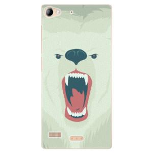 Plastové pouzdro iSaprio Angry Bear na mobil Lenovo Vibe X2