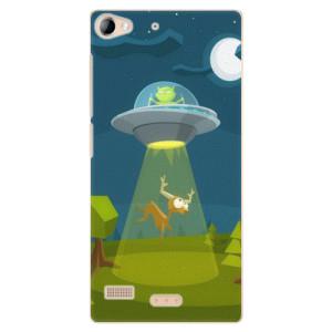 Plastové pouzdro iSaprio Alien 01 na mobil Lenovo Vibe X2