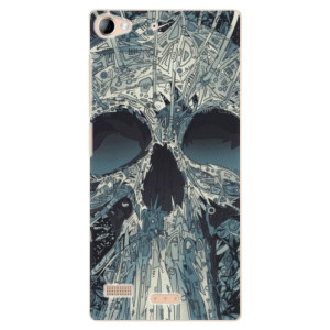 Plastové pouzdro iSaprio Abstract Skull na mobil Lenovo Vibe X2