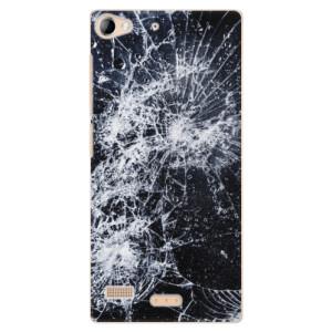 Plastové pouzdro iSaprio Cracked na mobil Lenovo Vibe X2