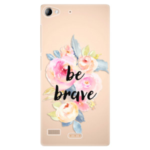 Plastové pouzdro iSaprio Be Brave na mobil Lenovo Vibe X2