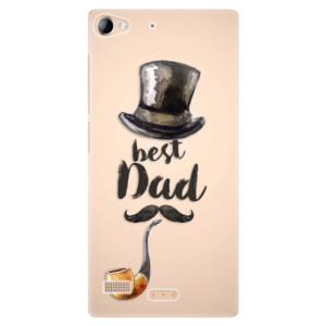 Plastové pouzdro iSaprio Best Dad na mobil Lenovo Vibe X2