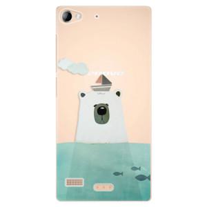 Plastové pouzdro iSaprio Bear With Boat na mobil Lenovo Vibe X2