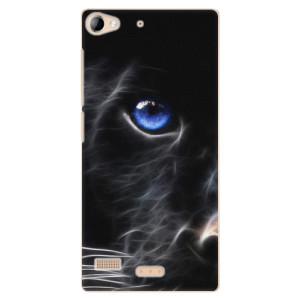 Plastové pouzdro iSaprio Black Puma na mobil Lenovo Vibe X2