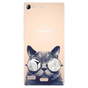 Plastové pouzdro iSaprio Crazy Cat 01 na mobil Lenovo Vibe X2