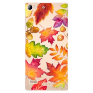 Plastové pouzdro iSaprio Autumn Leaves 01 na mobil Lenovo Vibe X2