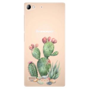 Plastové pouzdro iSaprio Cacti 01 na mobil Lenovo Vibe X2
