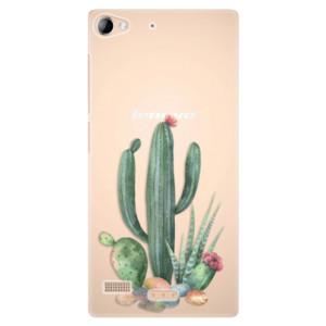 Plastové pouzdro iSaprio Cacti 02 na mobil Lenovo Vibe X2