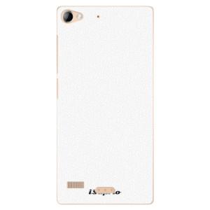 Plastové pouzdro iSaprio 4Pure bílé na mobil Lenovo Vibe X2