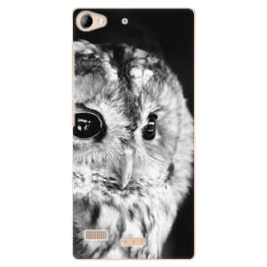 Plastové pouzdro iSaprio BW Owl na mobil Lenovo Vibe X2