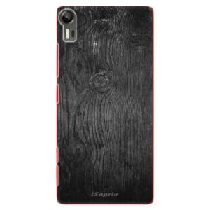Plastové pouzdro iSaprio Black Wood 13 na mobil Lenovo Vibe Shot