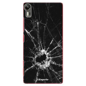 Plastové pouzdro iSaprio Broken Glass 10 na mobil Lenovo Vibe Shot