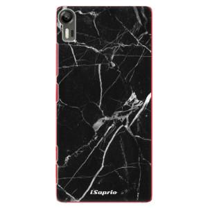 Plastové pouzdro iSaprio Black Marble 18 na mobil Lenovo Vibe Shot