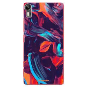 Plastové pouzdro iSaprio Color Marble 19 na mobil Lenovo Vibe Shot