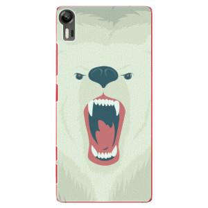 Plastové pouzdro iSaprio Angry Bear na mobil Lenovo Vibe Shot