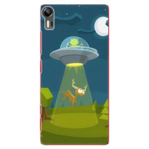 Plastové pouzdro iSaprio Alien 01 na mobil Lenovo Vibe Shot